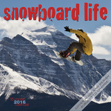 Snowboard Life - 2016 Calendar Calendars