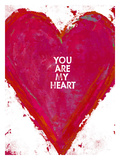 You Are My Heart Giclee Print by Lisa Weedn