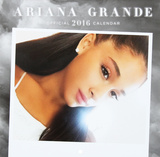 Ariana Grande - 2016 Mini Wall Calendar Calendars