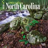 North Carolina, Wild & Scenic - 2016 Mini Wall Calendar Calendars