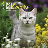 Cat Lovers - 2016 Mini Wall Calendar Calendars