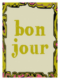 Bon Jour Giclee Print by Lisa Weedn