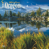 Oregon, Wild & Scenic - 2016 Calendar Calendriers