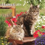 I Love Cats - 2016 Calendar Calendars