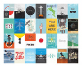 Leisure Travel Vacation Poster by Hannes Beer