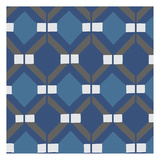 Moroccan Royal Blue 1 Prints by Nick Biscardi
