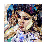 Should Woman Act Giclee Print by James Grey