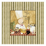 Good Food Stripes Prints by Dan Dipaolo