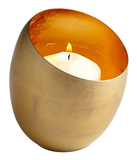 Minerva Brass Candleholder - Small Home Accessories