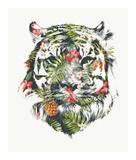 Tropical Tiger Prints by Robert Farkas