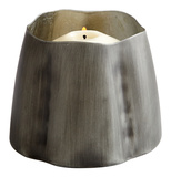 Fortuna Zinc Candleholder - Small Home Accessories