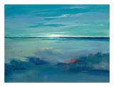 Blue Ciel Prints by Victoria Jackson
