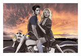 Sunset Ride Prints by Joshua Nelson