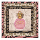 Pink Perfume Prints by Margaret Reule