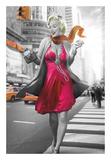 Marilyn in the City Art by JJ Brando