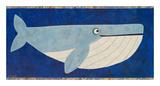 Wendell the Whale Poster von Casey Craig