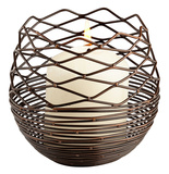 Coiled Silk Candleholder - Small Home Accessories