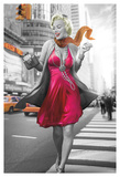 Marilyn in the City Prints by JJ Brando