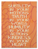 Subtlety In Your Motions Giclee Print by Lisa Weedn