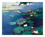 Water Lilies Art by Tadashi Asoma