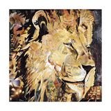 The Lion Premium Giclee Print by James Grey