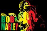 Bob Marley - Blacklight Poster Posters