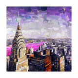 Chrysler View Giclee Print by James Grey