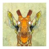 Abstract Giraffe Calf Posters by  Ancello