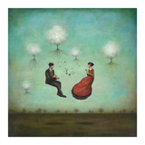 Gravitea For Two Print by Duy Huynh