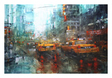 Times Square Reflections Posters by Mark Lague