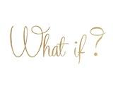 What If Print by Miyo Amori