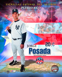 Jorge Posada Latin Stars Composite Photo