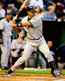 Jorge Posada 2008 Batting Action Photo