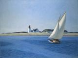 Edward Hopper - The Long Leg, 1930 - Giclee Baskı