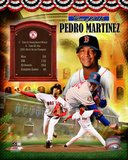 Pedro Martinez MLB Hall of Fame Legends Composite Photo