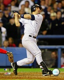 Jorge Posada 2003 Batting Action Photo