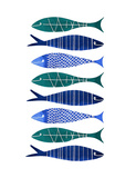 Catch of the Day Posters by Margaret Berg