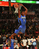 Victor Oladipo 2015 NBA Slam Dunk Contest Action 2015 All-Star Game Photo