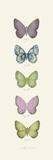Jardin des Papillons I Posters por Maria Mendez