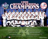 Yankees 1999 Championship Team Photo Photo
