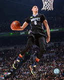 Zach LaVine 2015 NBA Slam Dunk Contest Action 2015 All-Star Game Photo