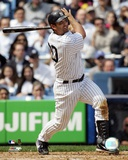 Jorge Posada - 2006 Batting Action Photo