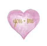 You and Me in Love Art by Miyo Amori