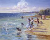 Seaside Scherzando Giclee Print by Judy Talacko
