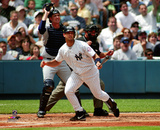 Jorge Posada 2003 Action Photo