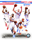 Los Angeles Clippers 2014-15 Team Composite Photo