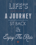 Enjoy The Ride Posters by Tom Frazier