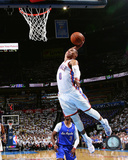 Russell Westbrook 2013-14 Playoff Action Photo