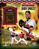 John Smoltz MLB Hall of Fame Legends Composite Photo