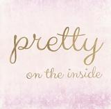 Pretty on the Inside Pink Prints by Miyo Amori